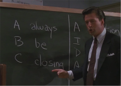 Everyone is in sales: but you will need a better customer experience than in Glengarry Glen Ross.
