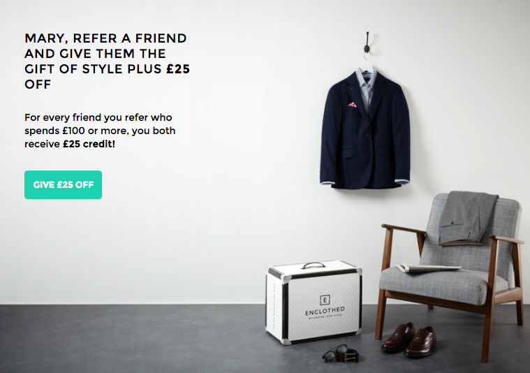 Enclothed Referral Programme