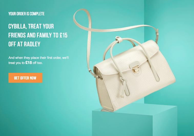 Radley refer-a-friend program