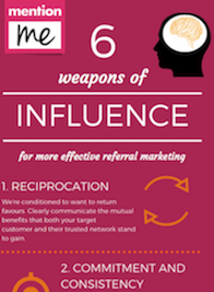 Weapons of Influence for referral marketing