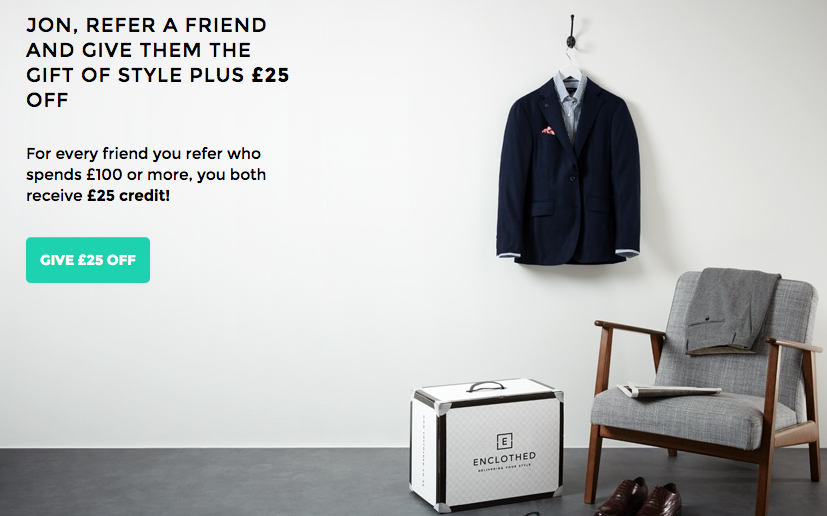 Enclothed Referral Offer
