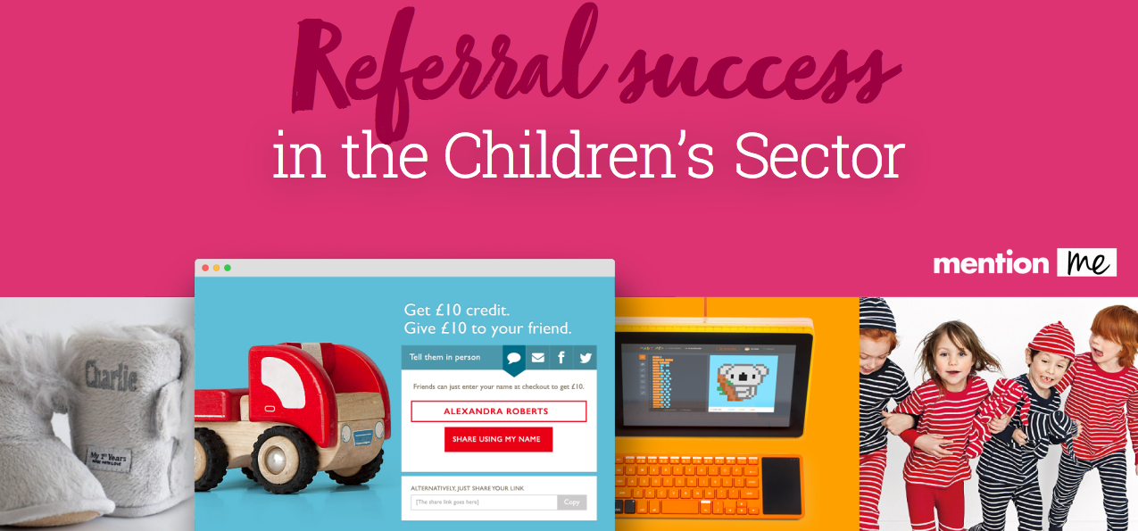 Referrals in the children's sector