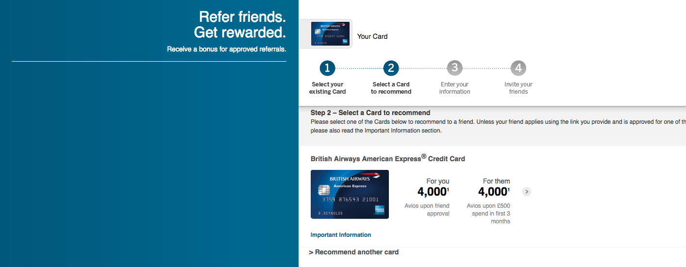 Amex Customer Referral Program