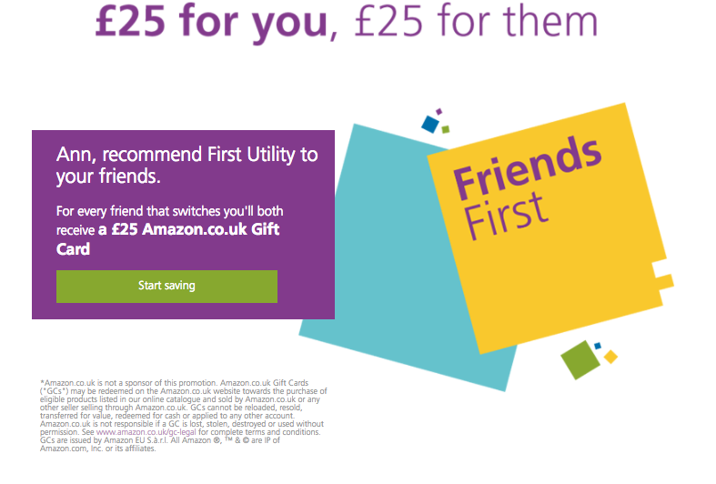 First Utility Referral Scheme
