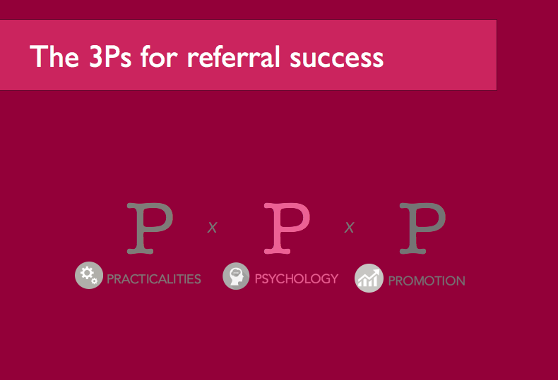 3 Ps for Referral