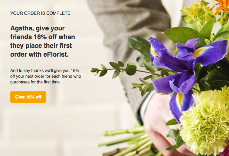 eFloriist Referral Programme