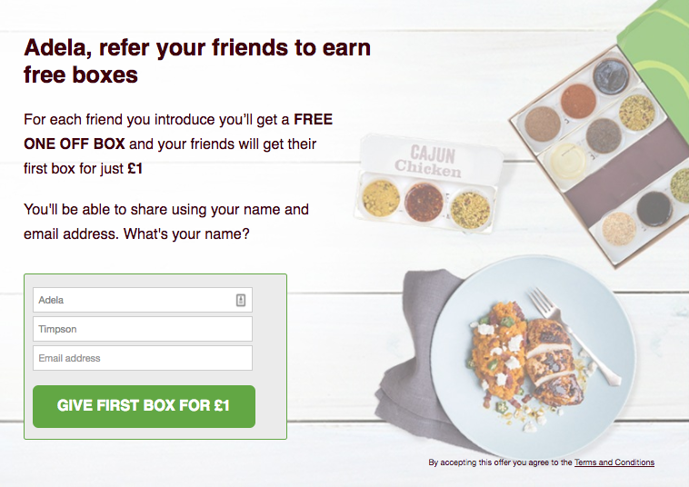 Simply Cook refer-a-friend offer
