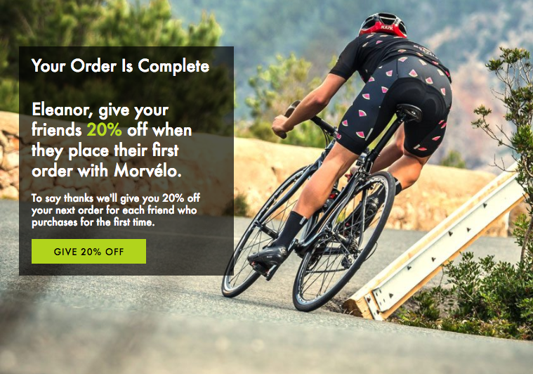 Morvelo referral programme