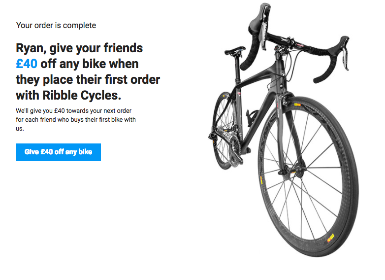 Ribble introduce a friend offer