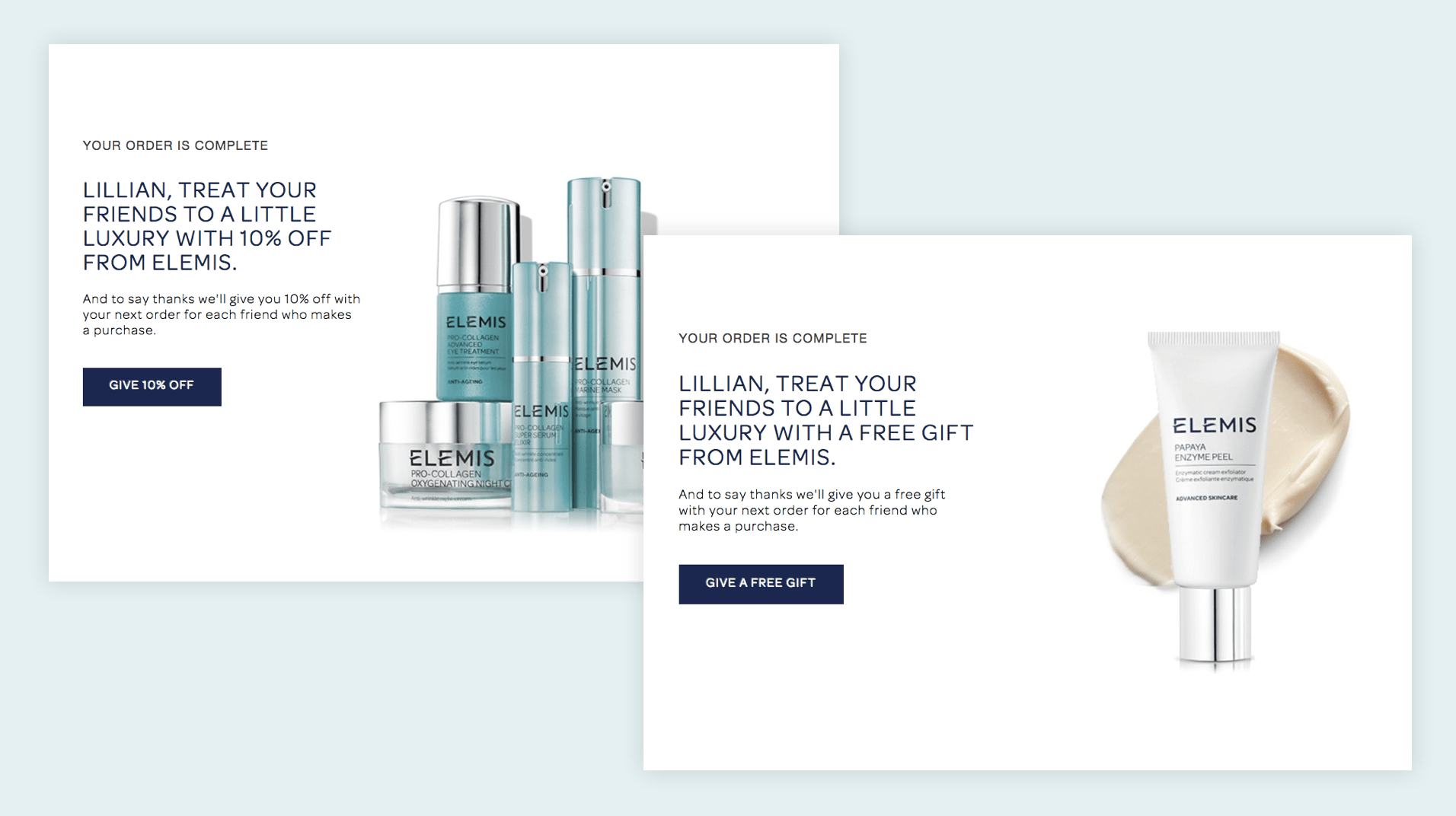 Elemis Referral Offer