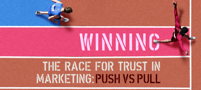 Push vs pull marketing