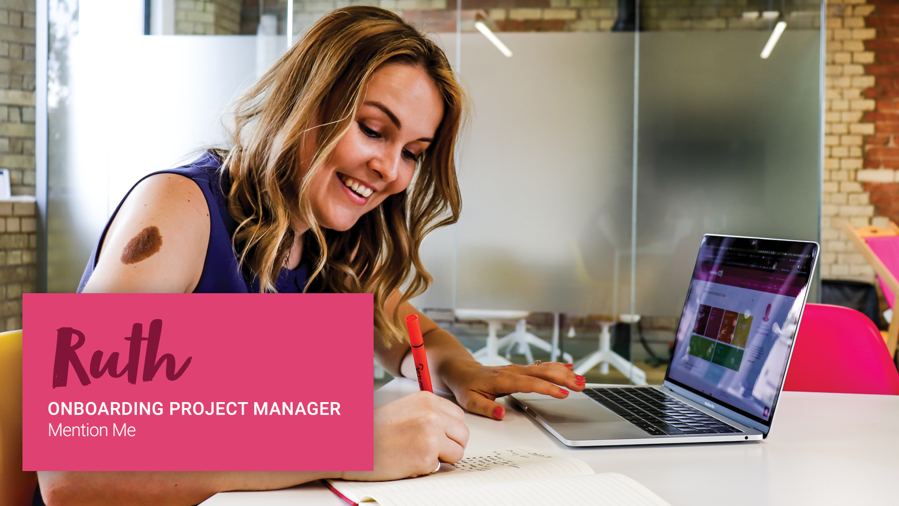 Ruth, Onboarding Project Manager