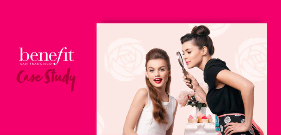 Referral marketing success for Benefit Cosmetics