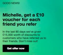 Social proof in play for referral