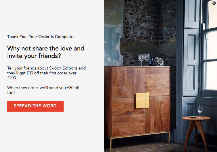 Swoon Editions Referral Scheme Offer