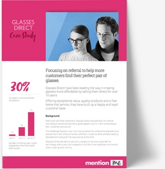 Glasses Direct referral scheme case study