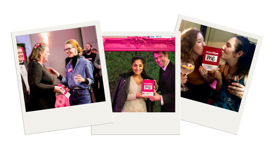 Some of the winners of the Referral Marketing Awards