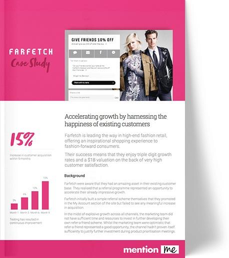 Farfetch Referral Programme Case Study