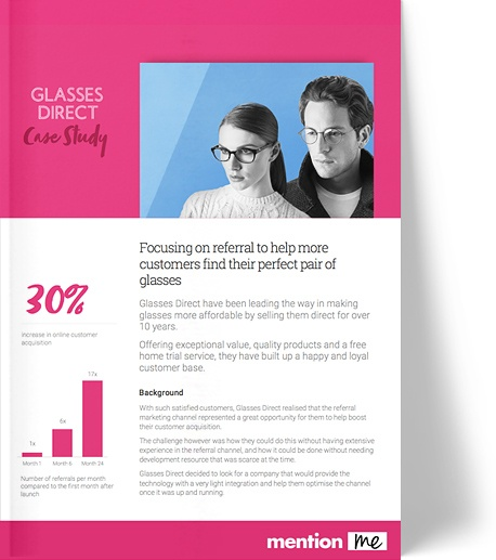 Glasses Direct referral case study