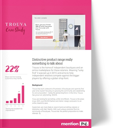 Trouva - referral success case study