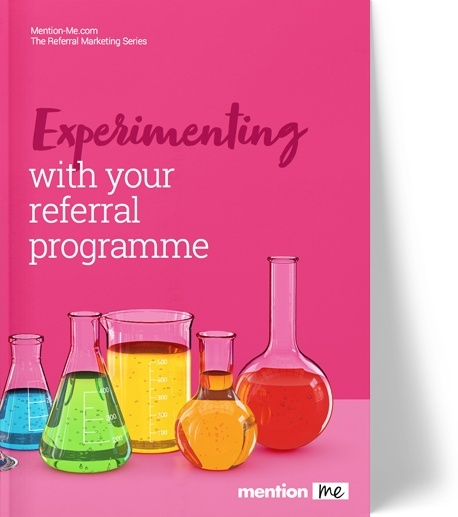 AB testing experiments for referral scheme
