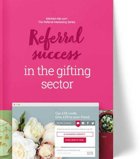 Gifting sector referral marketing report