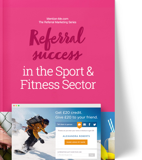 Guide to referral in the Sport & Fitness sector